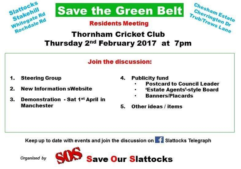 Meeting at Thornham Cricket Club 2nd Feb 2017